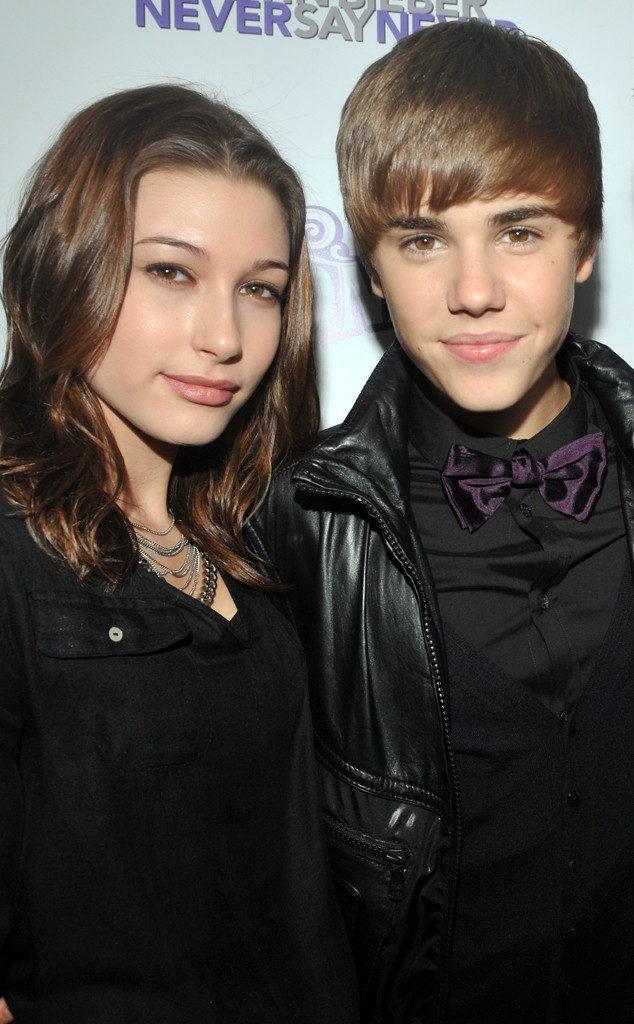 2011_Hailey Baldwin with Justin Bieber