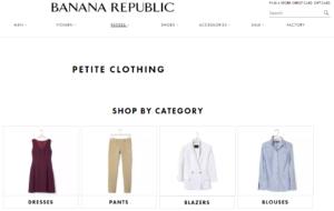 Banana Republic for petite women