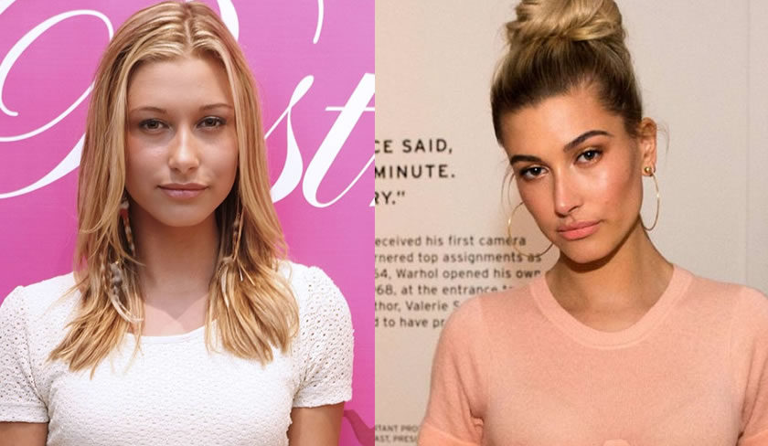 Hailey Baldwin Before After