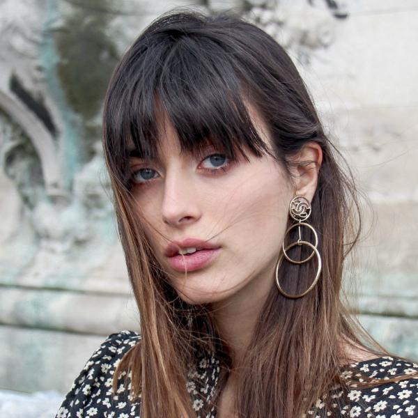 Louise Follain natural makeup look