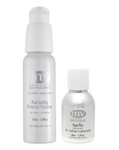 MV Organics Plus Booster, Rose Soothing and Protective moisturizer