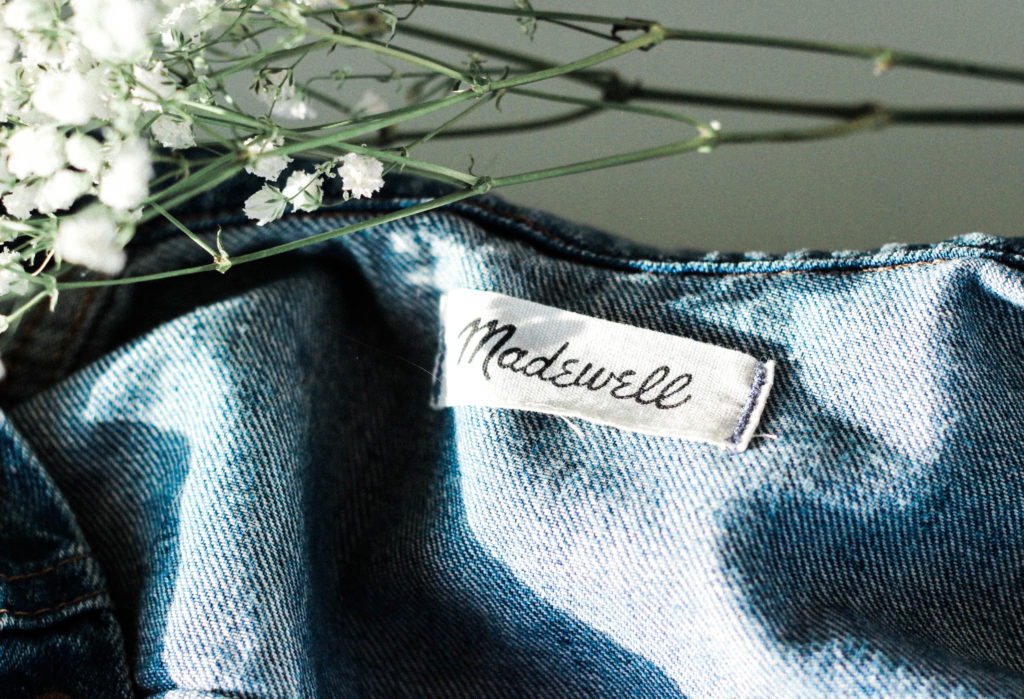 Madewell for petites and 00 sizes