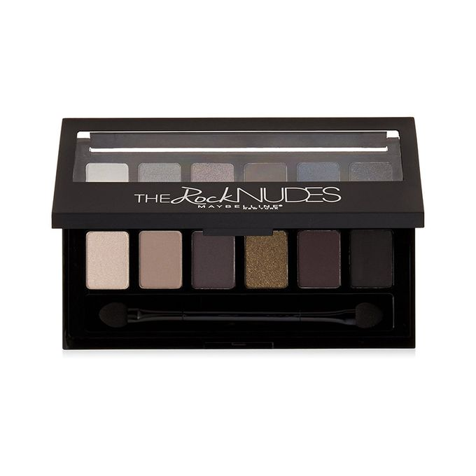 Maybelline New York The Rock Nudes Palette, 0.35 Ounce