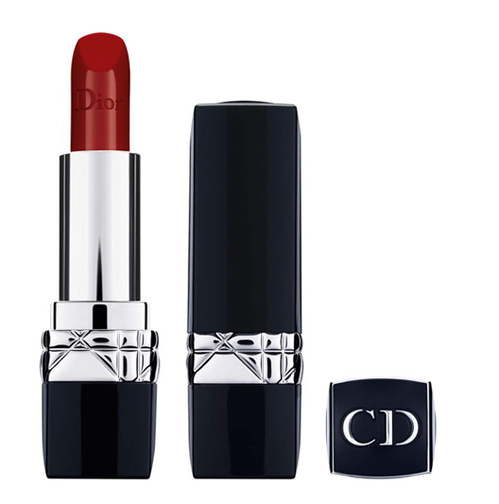 Christian Dior Double Rouge Matte Metal Color Lipstick for Women, Poison Purple, 0.12 Ounce