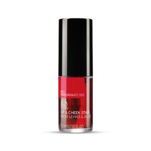 The Body Shop Lip Cheek Stain, 001 Pink Hibiscus, 7.2ml