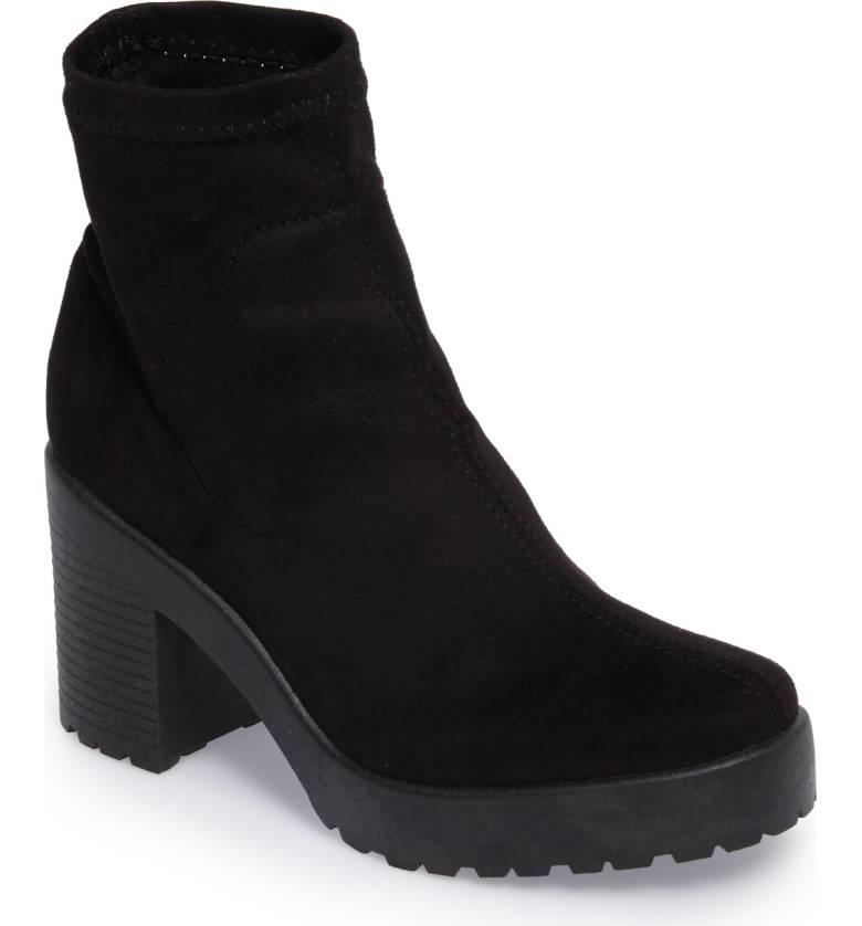 Topshop - Brick Sock Boot
