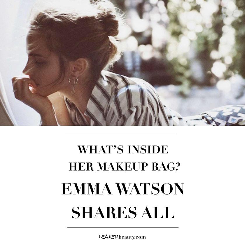 Emma Watson's beauty routine