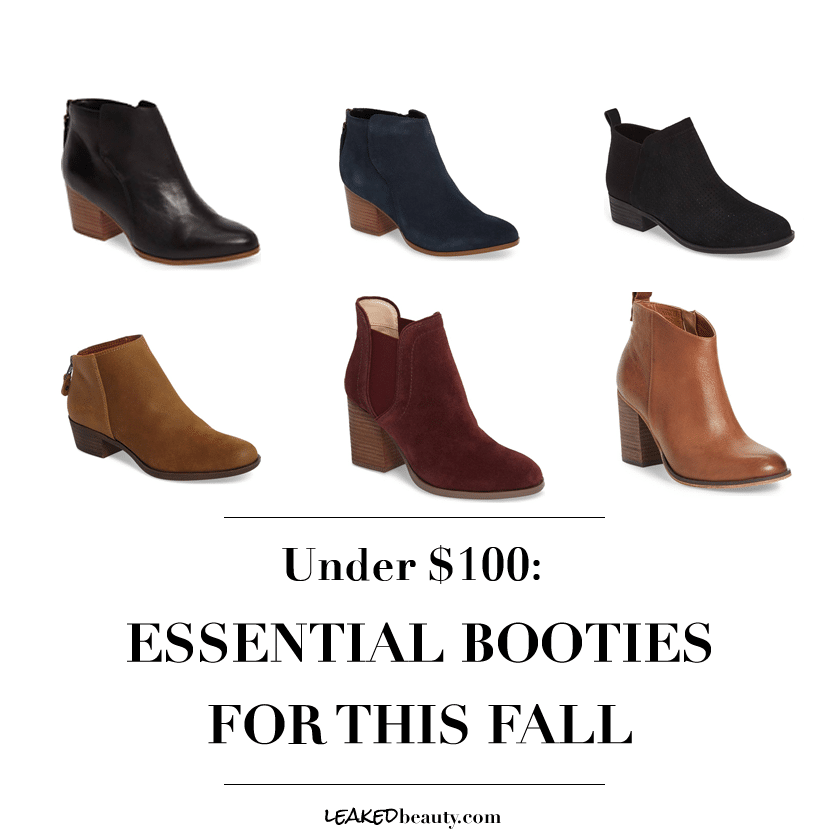 Fall Booties for 2017
