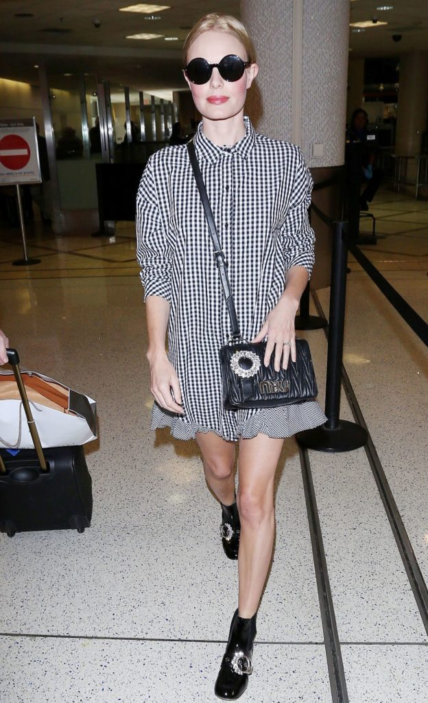 Kate Bosworth in Los Angeles airport in September 2017