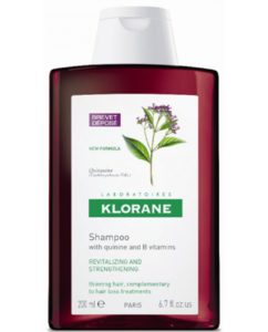 Klorane Strengthening Shampoo with Quinine and Edelweiss for Thinning Hair, Supports Thicker,...