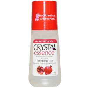Crystal Essence Mineral Deodorant, Roll-On Chamomile and Green Tea, 2.25 Fl Oz (Pack of 1) (31661)