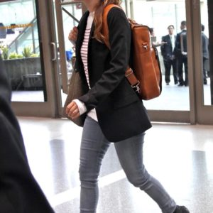 Rachel Bilson airport style
