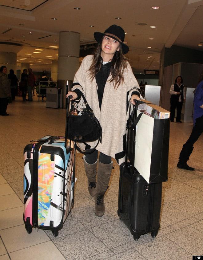Rachel Bilson airport style 5