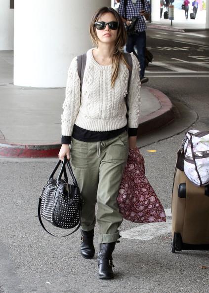 Rachel Bilson airport style 4