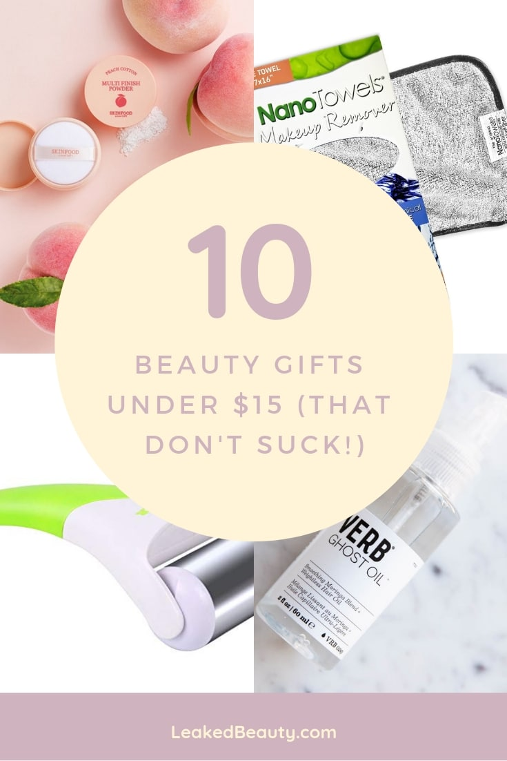 Best Beauty Gifts Under $15 ( That Don't Suck! ) — Leaked Beauty
