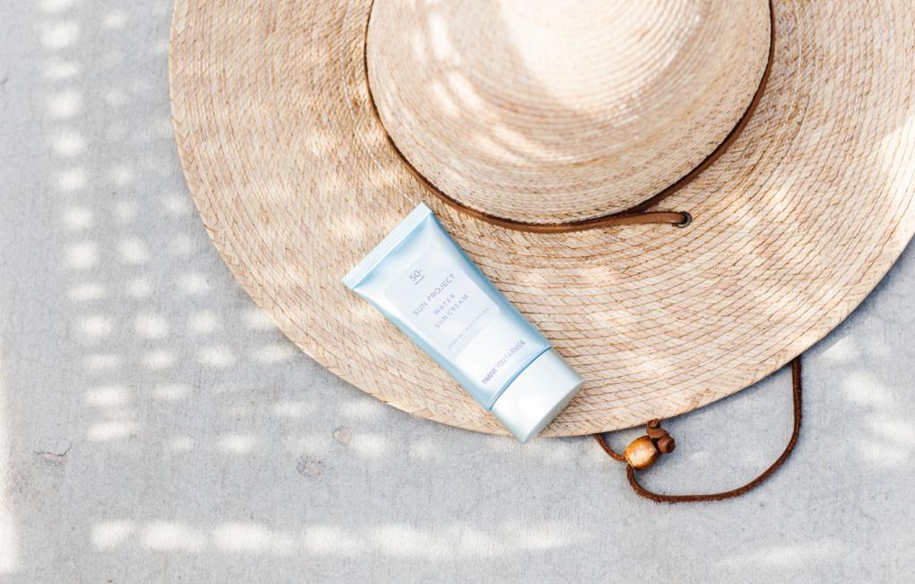 50+ Korean Sunscreen Sun Project Water Cream