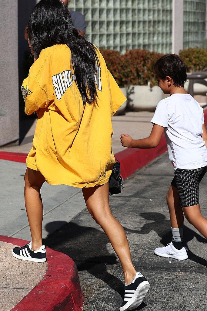 Kourtney Kardashian Extra Slouchy T-shirt