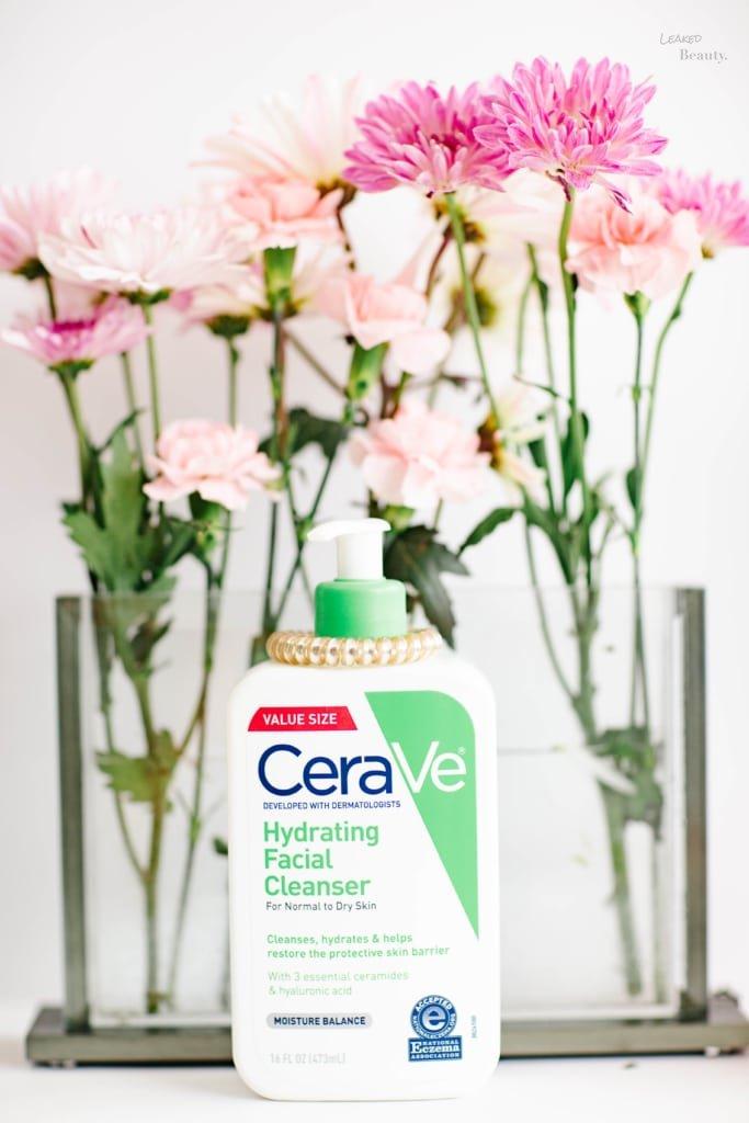 Cerave Hydrating Cleanser for sensitive skin