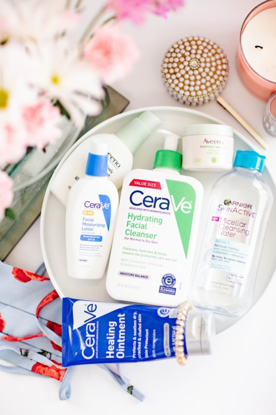 Drugstore Skincare Products for Sensitive Skin